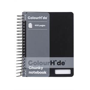 ColourHide Chunky 400 Page Notebooks