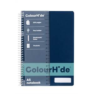 ColourHide A5 200 Page Notebooks