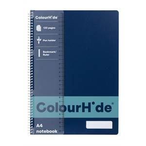 ColourHide A4 120 Page Notebooks