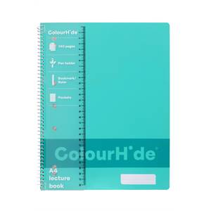 ColourHide Lecture Book A4 140 Page