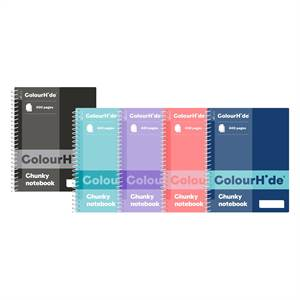 ColourHide Chunky 400 Page Notebooks - main image